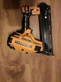 BOSTITCH 15ga finish nailer no charger or battery