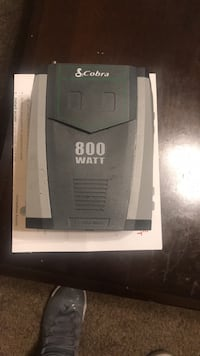 800 watt inverter.  Have a 2000 one in truck now.  It's never even been used.   Make offer paid 80.00 Milan, 48160