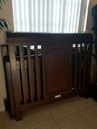 baby's brown wooden crib Homestead, 33033