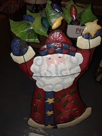 Santa Standing copper Santa 30 inches in height and 15 inches in lengt Montréal