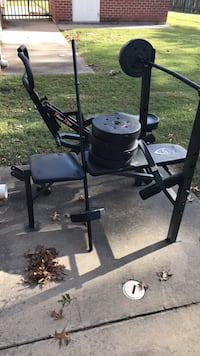 weight bench and exercise bike($25) Virginia Beach, 23464