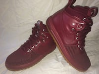 Nike Air Lunar Force 1 Duckboot Team Red Gum mens 9.5 Woodbridge, 22192