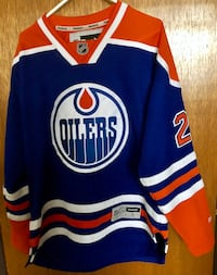Authentic Oilers Jersey S