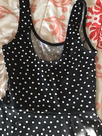 black and white polka dot tank top Denver, 80204