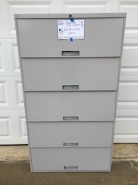 5- Drawer  Lateral Cabinet (1 Key) Clover, 29710