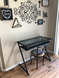 Glass desk with chair  College Station, 77840