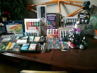 Art supplies and materials plus cricut machine  Edmonton, T5H 0N1