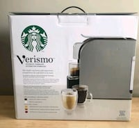 black Starbucks Verismo coffeemaker box Edmonton, T5H 0B8