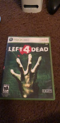 Left 4 Dead Xbox 360 game case 469 mi
