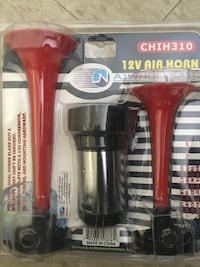 Brand New Powerful Air horn complete set New York, 10456