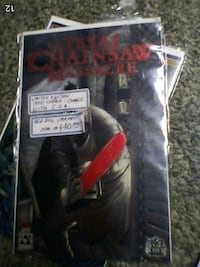 Texas Chainsaw Massacre comic with COA St. Catharines, L2T 2T6