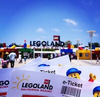 4 Legoland California Tickets