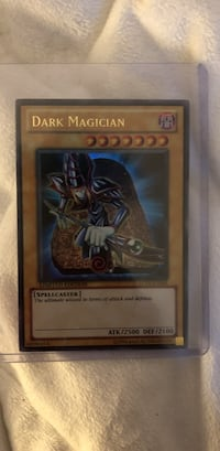 Dark magician great condition sealed in plastic cover Springfield, 22153
