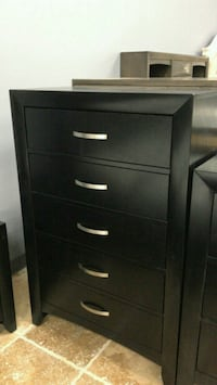 NEW Galinda Black Chest    Houston