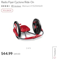 Radio Flyer Cyclone Lakemoor, 60051