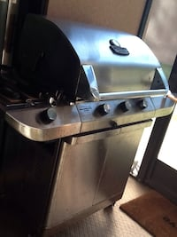 stainless steel and black gas grill Apollo Beach, 33572