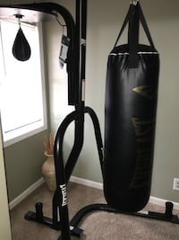 Everlast Punching Bag with speed bag combo with stand Council Bluffs, 51501