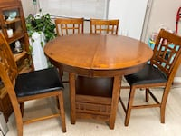 Dining table and chairs Surrey, V3T 2S3