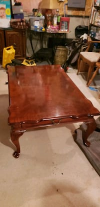 brown wooden table with chairs Brampton, L7A 3B7