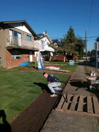 looking for work labour and landscaping Coquitlam
