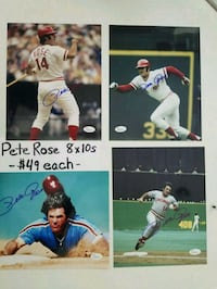 Pete Rose autographed photos Lake Grove, 11755