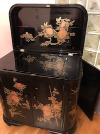 Black wooden bar with oriental design Vancouver, V5Y 2W8