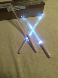 LED wands that light up with 3 levels Cypress, 90630