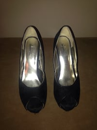 """Joy and Peace peep toes with 4"""" heel. Great condition. Delta"""