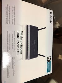 D-link wireless router Toronto, M9V