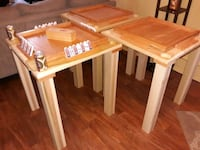 Hand made Domino's tables  Reading, 19601