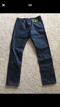 Brand new warm lining jeans size 32x30 Woodbridge, 22191