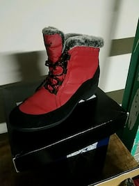pair of red suede boots Salinas, 93901