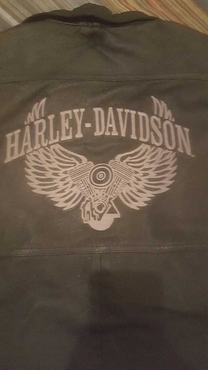 Photo Mens Harley Davidson Jacket Large