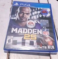EA SPORT MADDEN NFL 25 PS4 GAME