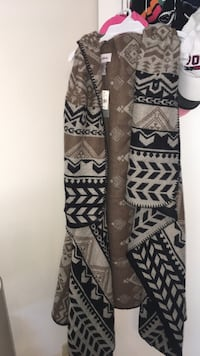 Tan, brown, and gray cardigan! **boutique wear** one size fits all Myrtle Beach, 29579