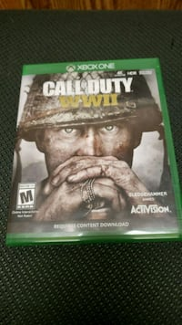 Call of Duty WWII XBOX ONE Riverside, 92507