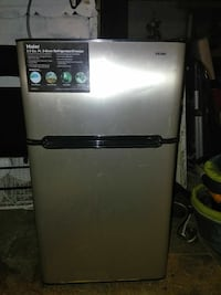 Haier mini fridge with freezer