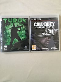 Call of duty ghost ve turok ps3