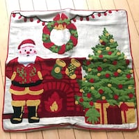 Santa embroidered pillow Little Falls, 07424