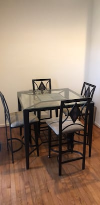 Table with 4  Chairs Laurel, 20723