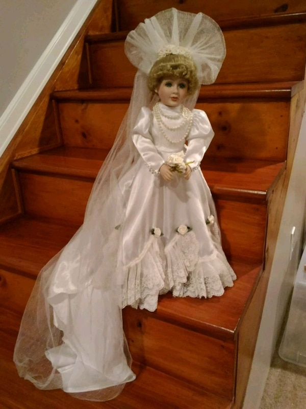 Porcelain Wedding Doll - Westminster Collection