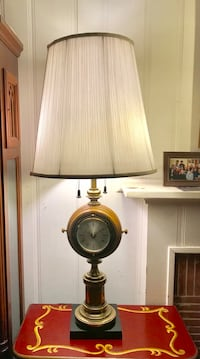Stieffel Captain's Quarters gorgeous Lamp, it's a lamp, it's a clock and a barometer Alhambra, 91803