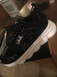 Versace Chain Reaction Sneakers  New York, 10123