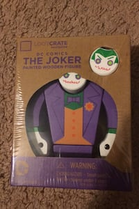 The joker painted wooden figure Paterson, 07502