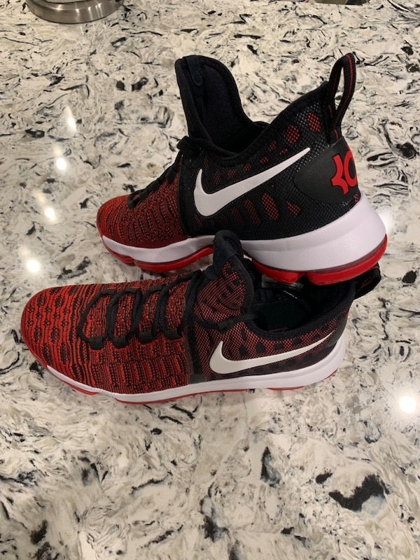 """47684eb501b545 Used KD 9 """"Red Black"""" DS Size  10.5 for sale in Creve Coeur - letgo"""