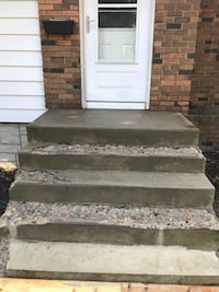 I can repair your concrete stairs