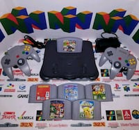 Nintendo 64 with games  Chicago, 60646