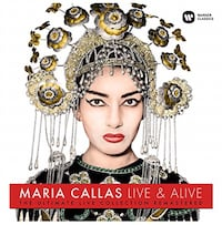 New unused LP Format Maria Callas Live & Alive Ultimate Collection Remastered Toronto, M5M 1Y3