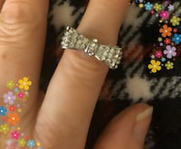 Bow ring size 5.  Surrey