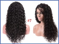 """New 22"""" 100% Human Hair Lace Front Wig s7 Lanham"""